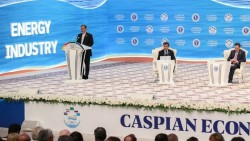 نخستین نشست اقتصادی خزر در ترکمنستان