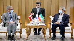 سفیر دانمارک در دیدار با رئیس اتاق ایران