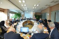 بررسی عملکرد بانک صنعت و معدن در نشست کمیسیون صنعت و معدن اتاق تهران