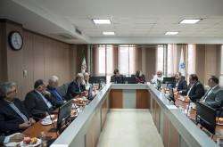 نشست مشترک کمیسیون بازار پول و کمیسیون صنعت و معدن اتاق بازرگانی تهران
